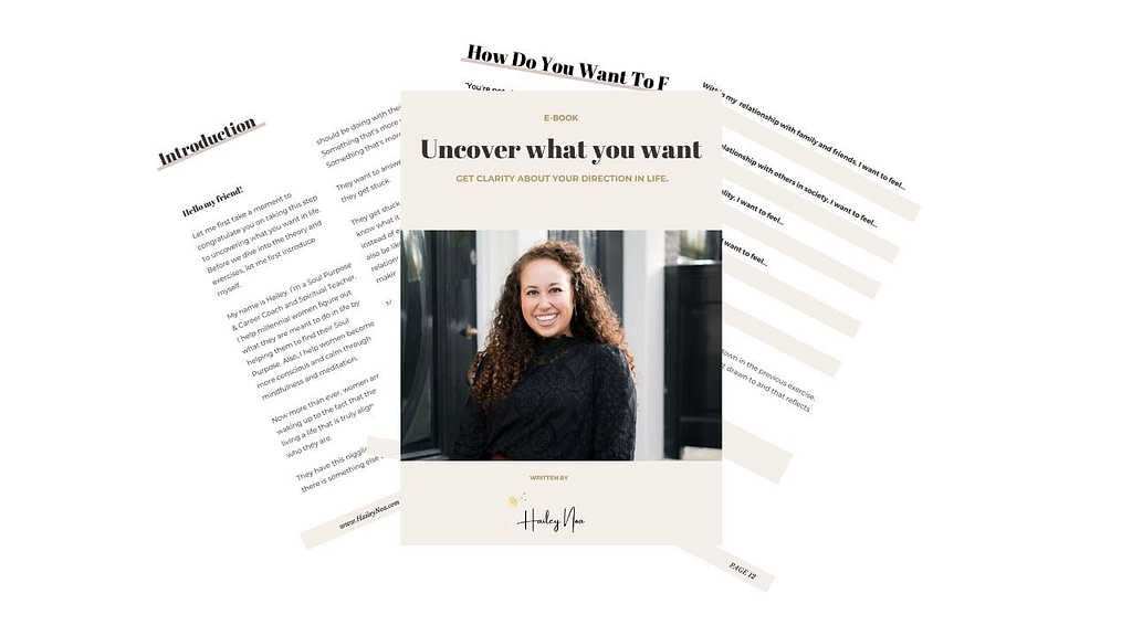 Uncover what you want in life - e-workbook